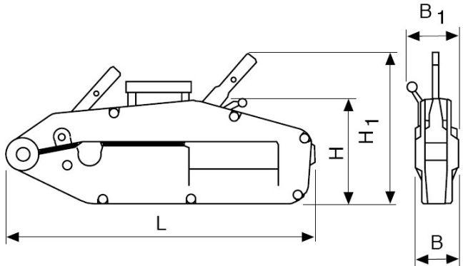 механизмы монтажно-тяговые МТТМп