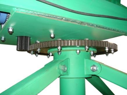 Кран стреловой МАСТЕР-3 поворот стрелы
