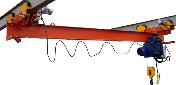 кран-балки электрические подвесные производства СВПК