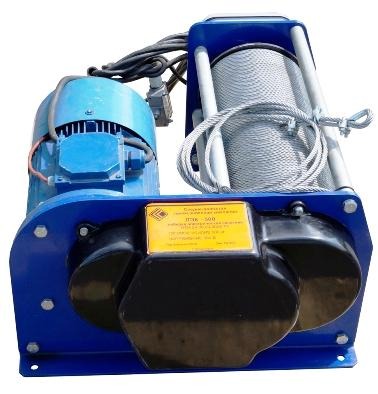 лебедки электрические ЛЭК-500