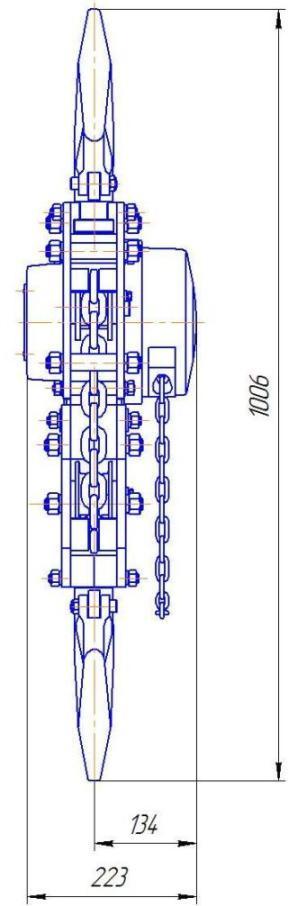 таль цепная стационарная ТРШСМ-10,0