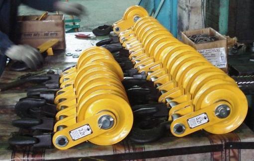 Блоки БМ-3,2Ш-01 на участке сборки