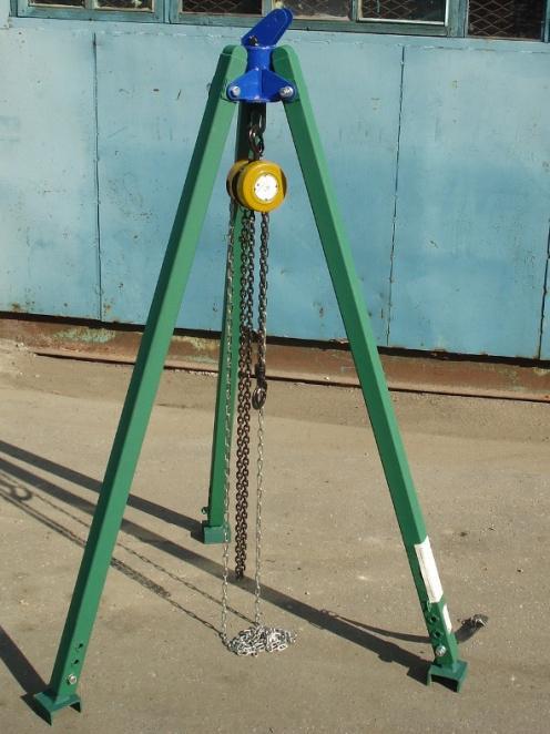 ТП-1000 тренога перегрузочная грузоподъемностью 1000 кг