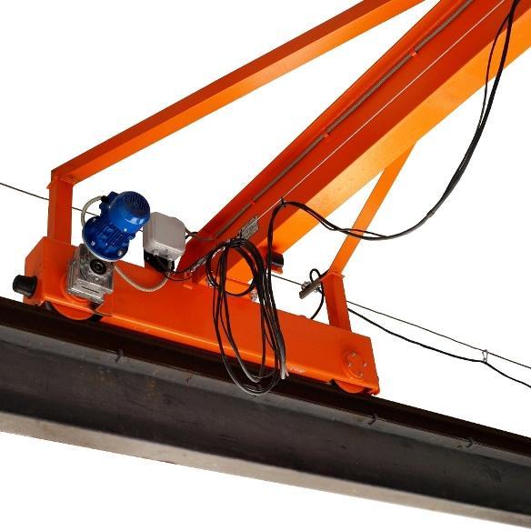 кран электрический опорный однобалочный