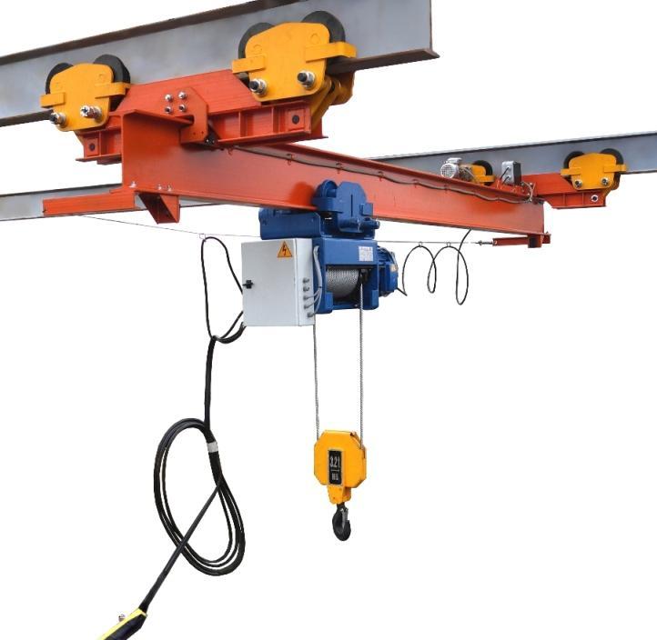 подвесной кран электрический однопролетный