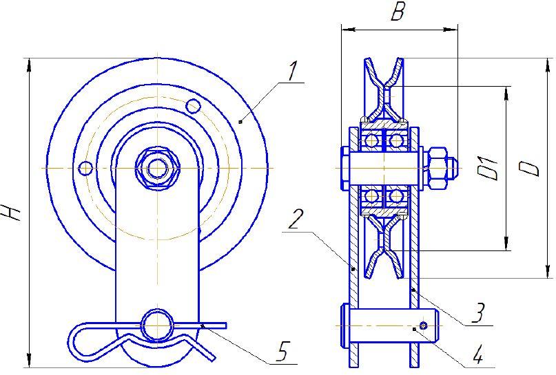БМ-0,5 схема