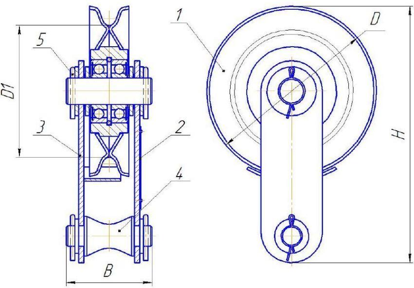 БМ-1,6Ш схема