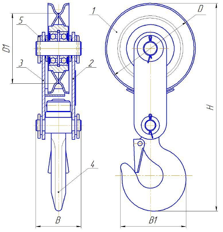 БМ-1,6Ш-01 схема