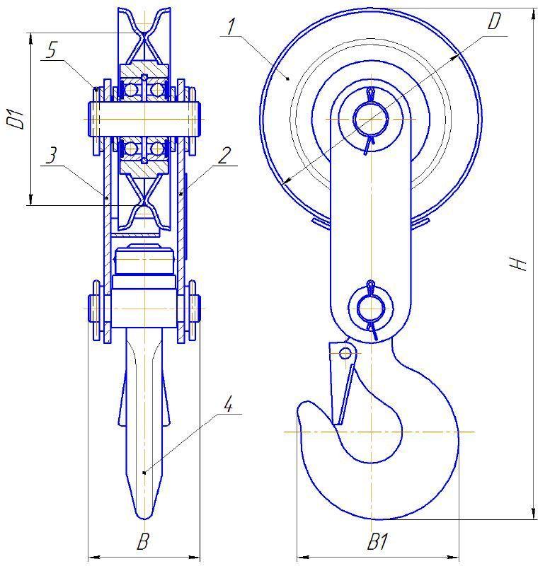 БМ-3,2Ш-01 схема